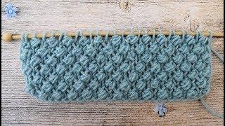 """Красивый узор для вязания детских вещей. Узор спицами """"Букле"""""""