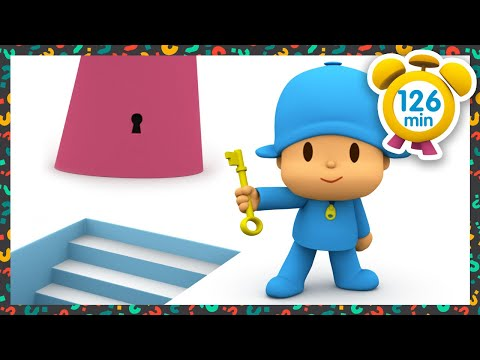 🗝 POCOYO in ENGLISH - The Master Key [ 126 minutes ]   Full Episodes   VIDEOS and CARTOONS for KIDS
