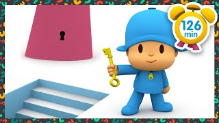 � POCOYO in ENGLISH - The Master Key [ 126 minutes ] | Full Episodes | VIDEOS and CARTOONS for KIDS