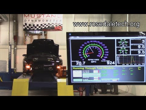 Dyno Testing a Low Power Complaint at Rosedale Technical College