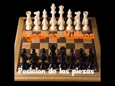 Posicion de las piezas en el tablero ajedrez youtube - Como se pone el parquet ...