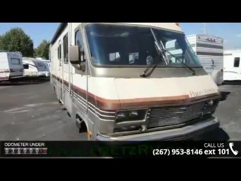 Used 1987 Fleetwood Pace Arrow 32 for Sale Fretz RV Classified Ads Camper  Trader
