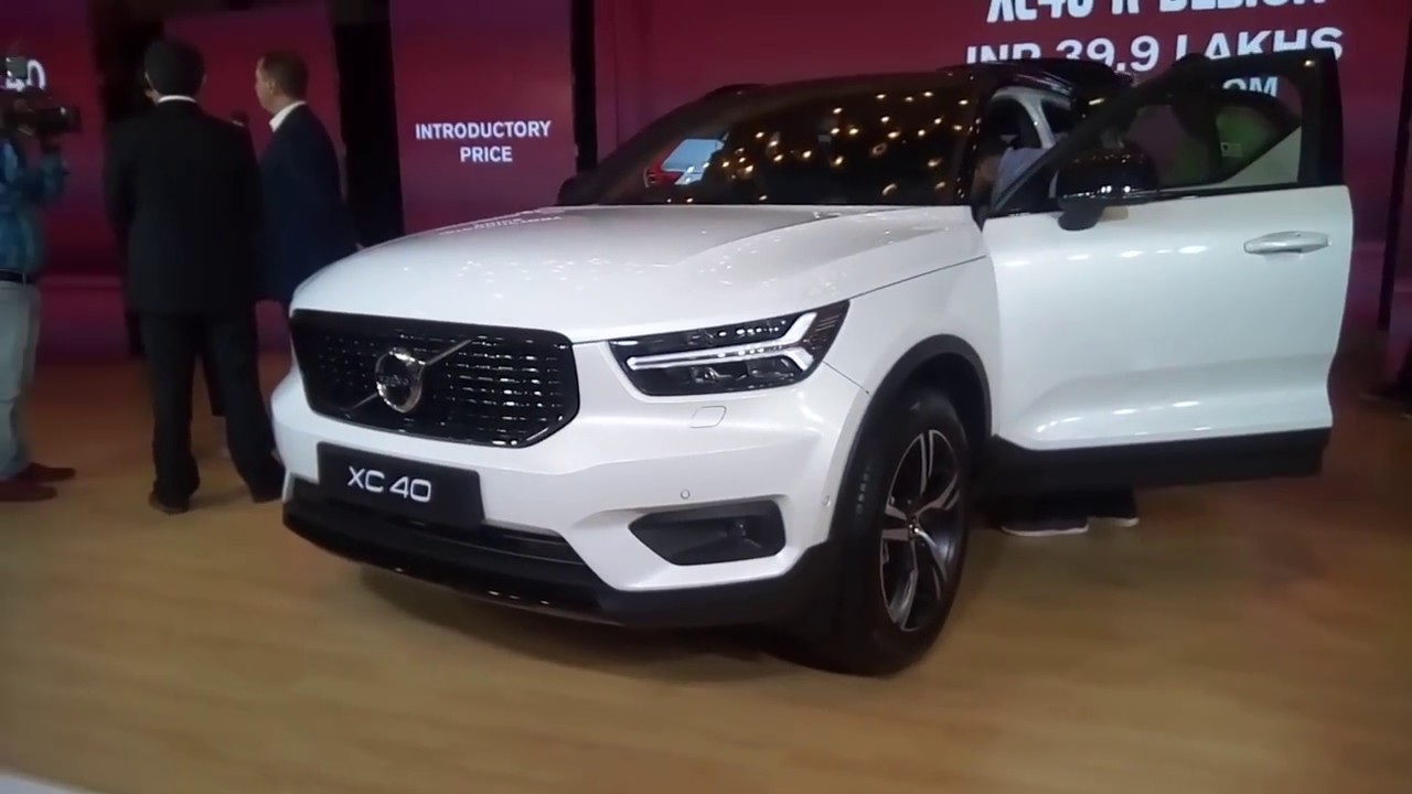 Volvo Xc40 R Design Launch Price Motown India Youtube