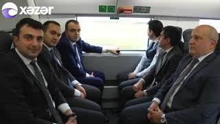 Bakı-Gəncə sürət qatarı işə düşdü