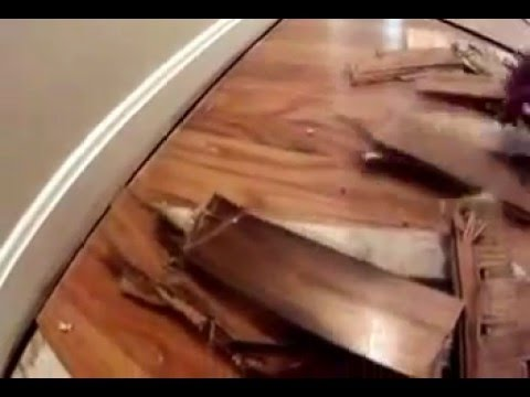 Hardwood Floor Repair Diy Youtube