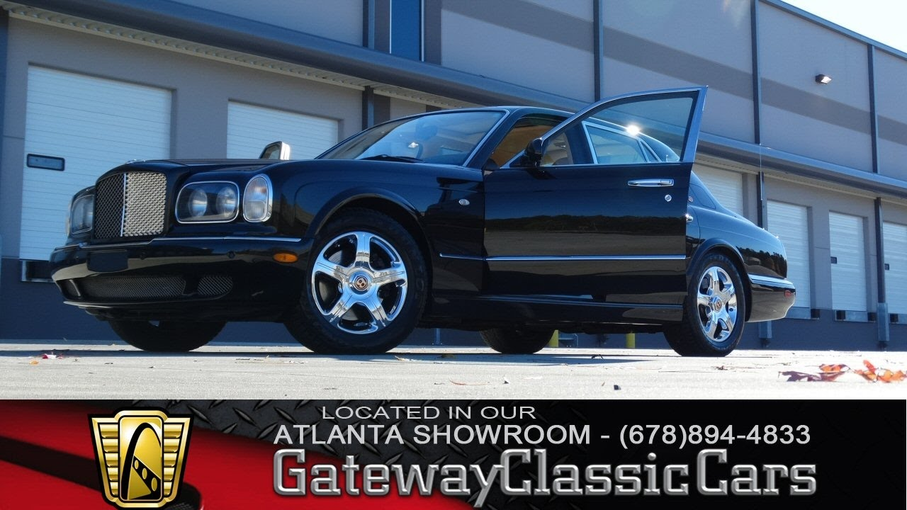 2001 bentley arnage red label gateway classic cars of atlanta 2001 bentley arnage red label gateway classic cars of atlanta 114 youtube vanachro Choice Image