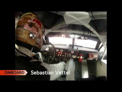 RACE OF CHAMPIONS Sebastian Vettel Onboard cam - Bangkok 2012