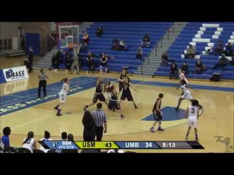 UMass Boston Men's Basketball vs University of Southern Maine (1/20/16) Webcast