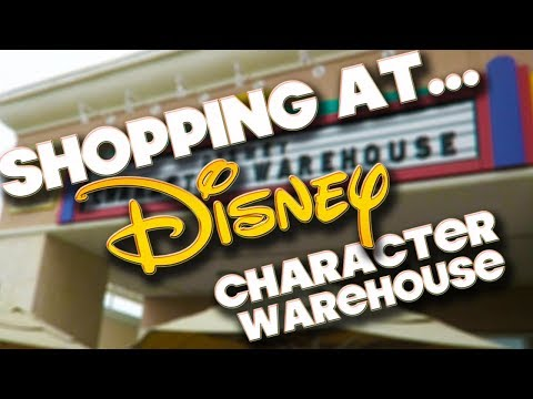 SHOPPING AT - DISNEY CHARACTER WAREHOUSE - VINELAND PREMIUM OUTLETS - 9TH MAY 2018