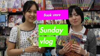 Japan bookstore tour.vlog book shop in japan book 1st.|star lifestyle|