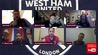 West Ham Wednesday Night White Flag Edition - LIVE on AHTV