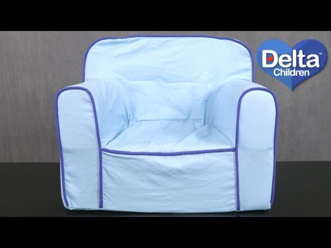 Blue Foam Snuggle Chair from Delta Children's Products