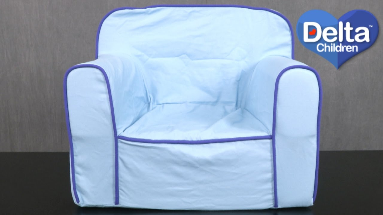 Delta Children Chair Blue Foam Snuggle Chair From Delta Children S Products