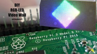 BitBastelei #325 - DIY RGB-LED-Video-Wall mit Raspberry Pi und P4-Modul