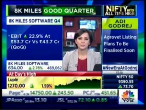 8K Miles Q4 Results 2017 - Mr. Suresh V - CNBC Business 10 May 2017
