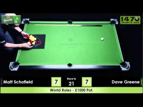 Matt Schofield v Dave Greene (21/6/14)