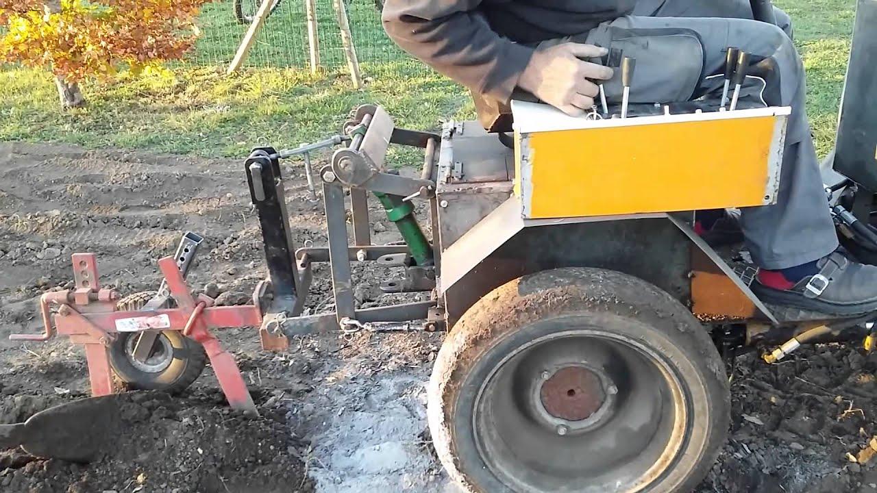 tracteur forestier fabrication artisanale