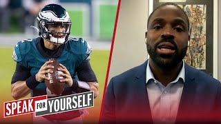 Everything is at stake for Jalen Hurts this season — Torrey Smith | NFL | SPEAK FOR YOURSELF
