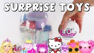 Surprise Egg LOL Surprise Glitter Series   Toy Surprises by DCTC Amy Jo