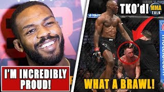 Reactions to Kamaru Usman STOPPING Colby Covington in 5th RD,UFC 245 results,Holloway vs Volkanovski