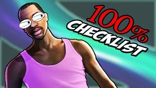 GTA San Andreas: 100% CHECKLIST / GUIDE [+BEST Order of Completion]