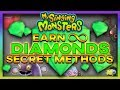 My Singing Monsters HOW TO EARN FREE DIAMONDS (SECRET METHOD) 100% Working 2018