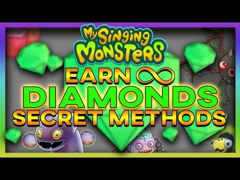 My Singing Monsters HOW TO EARN FREE DIAMONDS #1 (SECRET METHODS) 100% Working 2019