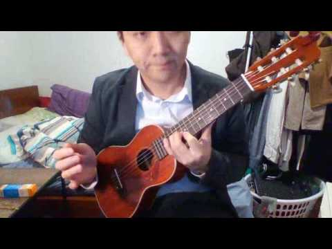 aria g uke guitalele with re entrant guitar tuning eadgbe youtube. Black Bedroom Furniture Sets. Home Design Ideas