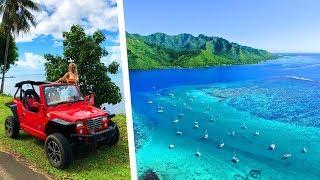 WORLD'S SMALLEST JEEP IN TAHITI