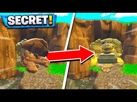 *SECRET* LOOT CAVE FORTNITE ADDED YOU DONT KNOW ABOUT in Fortnite Battle Royale!