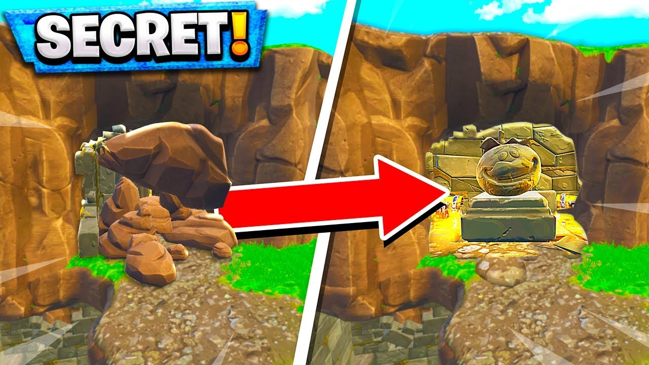 Secret Loot Cave Fortnite Added You Dont Know About In Fortnite