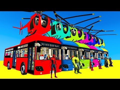LEARN COLORS Bus