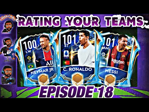 IS THIS GUY CONFUSED?😂 RATING YOUR TEAMS EP 18! IMPROVE YOUR SQUADS BEFORE UTOTS! FIFA MOBILE 21