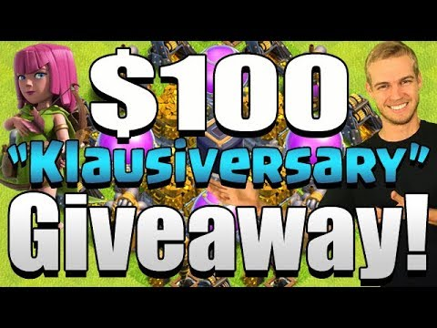 Giveaway live