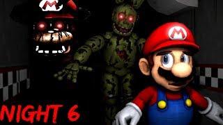 THE NIGHTMARE IS NOT OVER. || Mario In Animatronic Horror - NI…