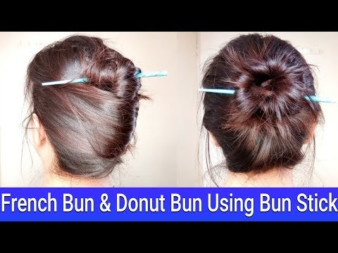 Holi Bun Hairstyles|Messy French Bun & Donut Bun|Summer Hairstyles|AlwaysPrettyUseful