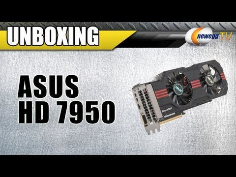 Newegg TV: ASUS AMD Radeon HD 7950 DirectCUII Top Overclocked Video Card Unboxing