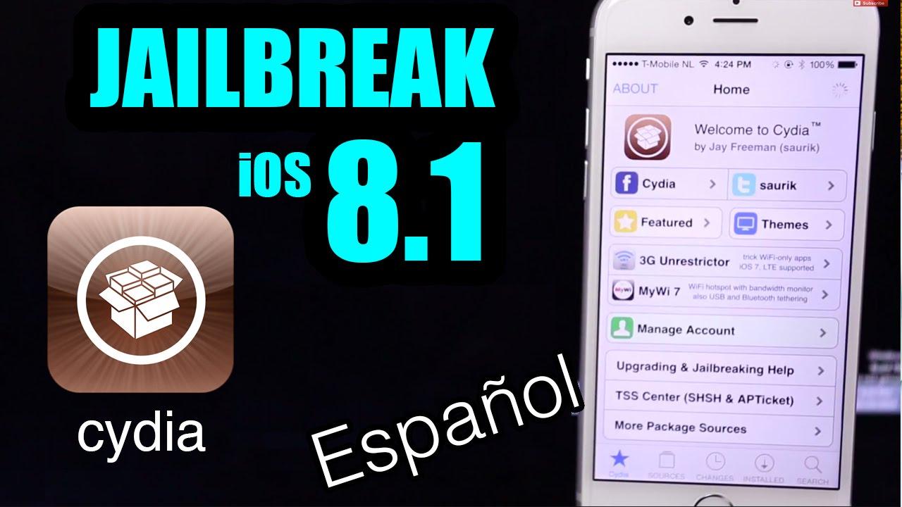 Jailbreak iOS 8.1 - iPhone / iPad / iPod Touch (Cydia para iPhone ...