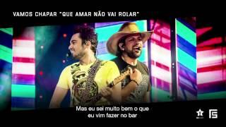 """Fernando & Sorocaba - Vamos Chapar """"que amar não vai rolar""""  [EP Sem Reação]"""