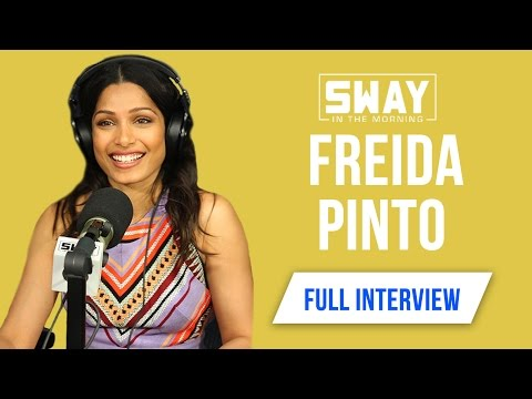 Freida Pinto on Civil & Music History, Which HipHop Artists She Listens To