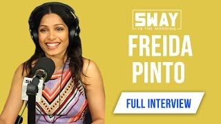 "Freida Pinto on Civil & Music History, Which Hip-Hop Artists She Listens To + ""Gorilla"" TV Series"