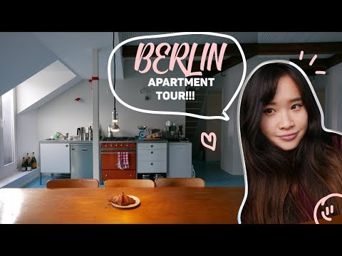 LIVING IN BERLIN & APARTMENT TOUR!! $4000/MONTH (WE ONLY STAYED FOR A MONTH) thumbnail
