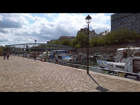 Du Port de l'Arsenal à Gare de Lyon - Paris