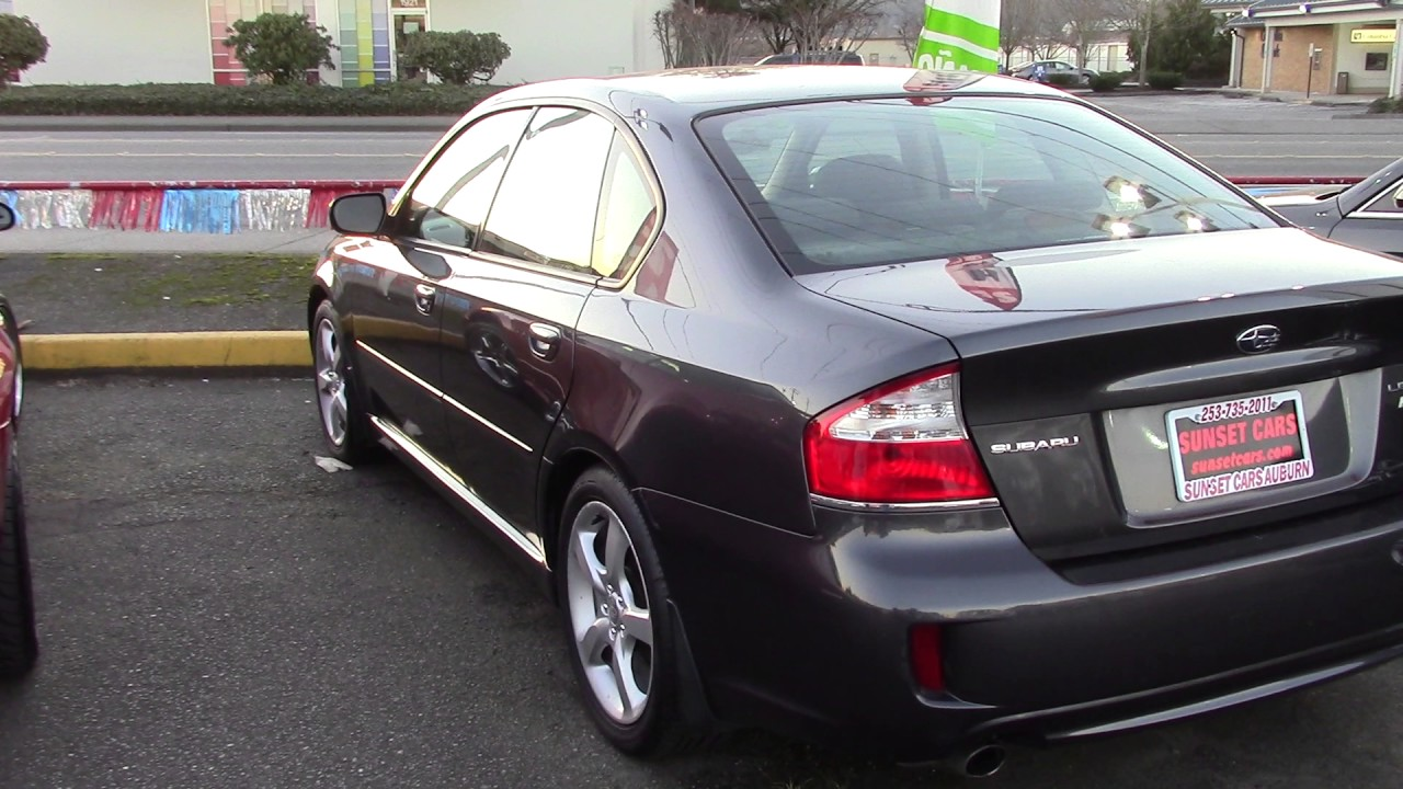 2009 subaru legacy 2.5i special edition (stock #96710) at sunset