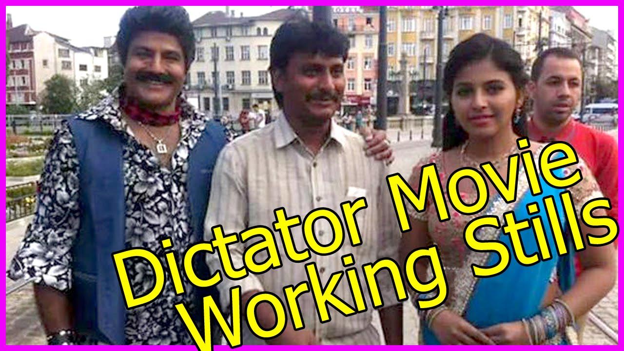 Balakrishna Dictator Movie Working Stills Making Video Anjali