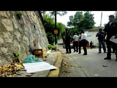 Meksika'da ilkokul önüne kesik başlar bırakıldı