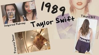 Taylor Swift and 1989 Inspired Makeup, DIYs, and Baking!|| Grace&TJ Thumbnail