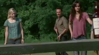 The Walking Dead - Вырезанная сцена, не попавшая в сериал. #3