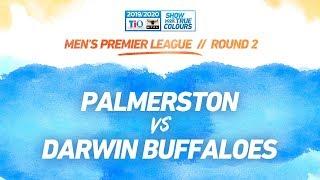 Palmerston Magpies vs Darwin Buffaloes: Round 2 - Men's Premier League: 2019-20 TIO NTFL