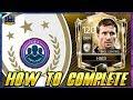 ICON 90 HAGI HOW TO COMPLETE!! FIFA MOBILE 18 NEW ICONS SBC 90 OVR HAGI UNLOCKED! (EASY)